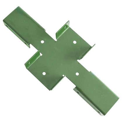 Купить Х-кронштейн Ral цвет зеленый дешевле