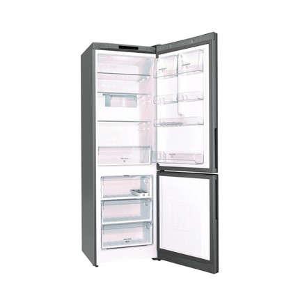 Холодильник двухкамерный Hotpoint Ariston HS 4180 X 185х60 см цвет нержавеющая сталь