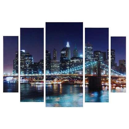 Холст модульный 80х115 см Бруклинский мост