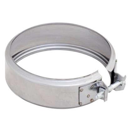 Хомут соединительный 115х0.5 мм нержавеющая сталь цена