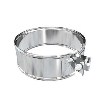 Купить Хомут соединительный 120х0.5 мм нержавеющая сталь дешевле