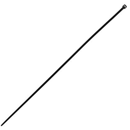 Хомут-стяжка 4.2х300 мм нейлон цвет черный 4 шт.