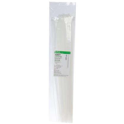 Купить Хомуты Кабельные 4.8х430 мм цвет белый 100 шт. дешевле