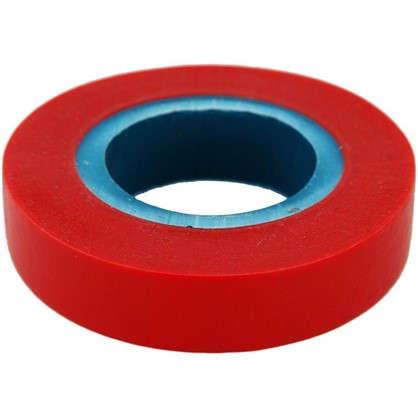 Изолента Эконом 0.13х15 мм 17 м цвет красный