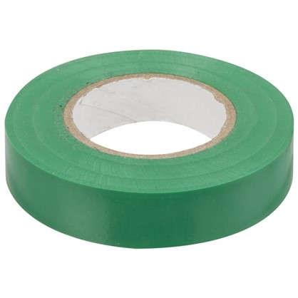 Изолента IEK Home 15 мм 20 м цвет зелёный