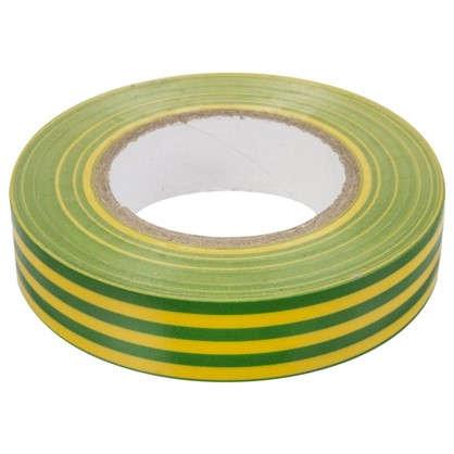 Изолента IEK Home 15 мм 20 м цвет жёлто-зеленый