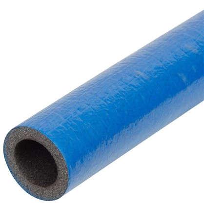 Купить Изоляция для труб СуперПротект d18 мм 100 см полиэтилен цвет синий дешевле
