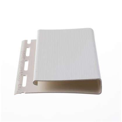 Купить J-профиль 3050 мм широкий Country Standart цвет белый дешевле
