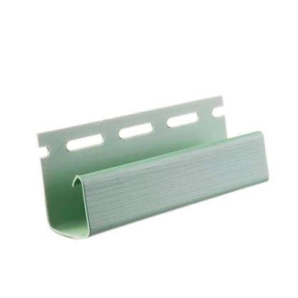J-профиль для сайдинга 3 м цвет зеленый