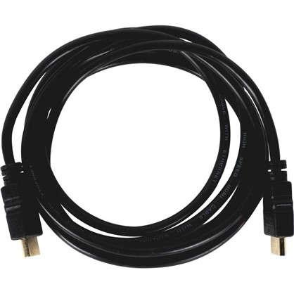 Кабель HDMI 3D Oxion Стандарт 2 м ПВХ/медь цвет чёрный