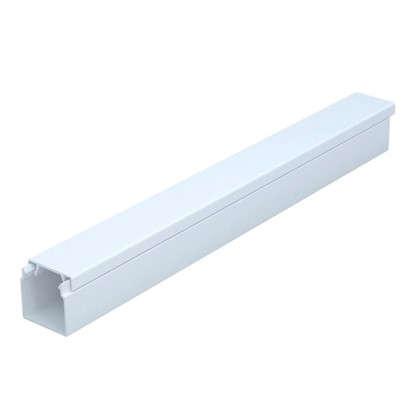 Купить Кабель-канал 16х16 мм цвет белый 2 м дешевле