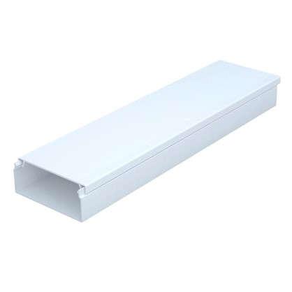 Купить Кабель-канал 40х16 мм цвет белый 2 м дешевле