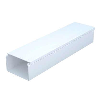 Купить Кабель-канал 40х25 мм цвет белый 2 м дешевле