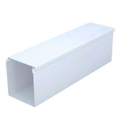 Купить Кабель-канал 40х60 мм цвет белый 2 м дешевле