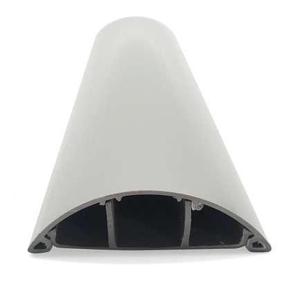 Кабель-канал напольный 70х19 мм цвет серый