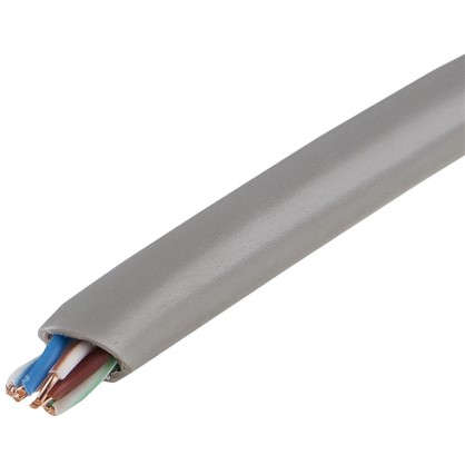 Кабель сетевой Electraline FTP cat 5e 4х2х0.52 мм 25 м