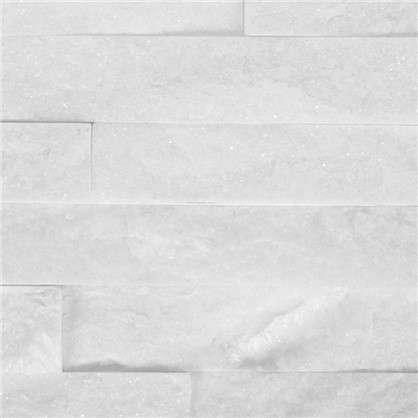 Купить Камень натуральный Кварцит цвет белый 0.63 м2 дешевле
