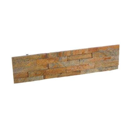Купить Камень натуральный Кварцит цвет мультиколор 0.63 м2 дешевле