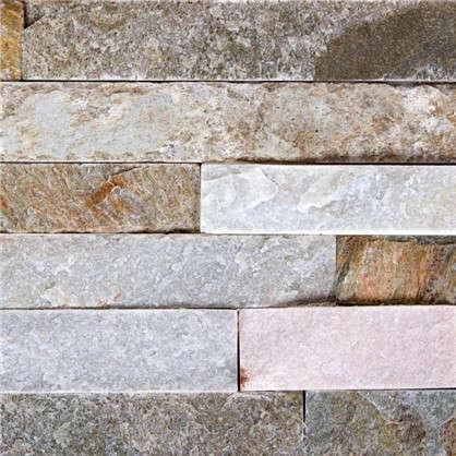 Купить Камень натуральный Сланец цвет бежевый 0.63 м2 дешевле