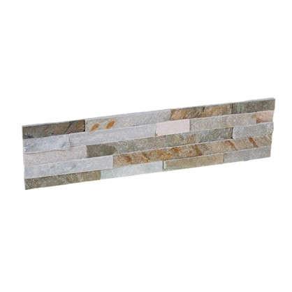 Камень натуральный Сланец цвет бежевый 0.63 м2
