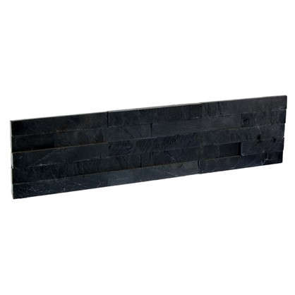Купить Камень натуральный Сланец цвет чёрный 0.63 м2 дешевле