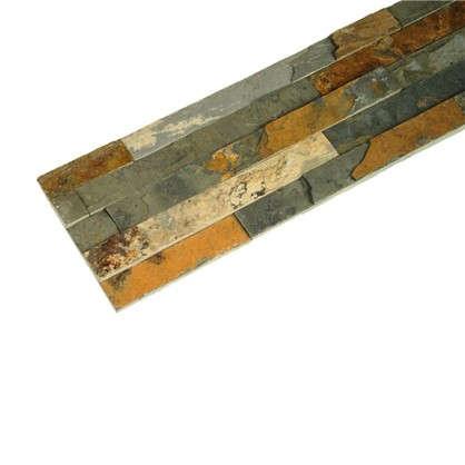 Купить Камень натуральный Сланец цвет мультиколор 0.63 м2 дешевле