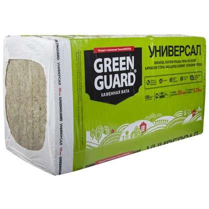 Каменная вата GreenGuard УНИВЕРСАЛ 50 мм