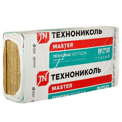 Каменная вата ТехноФас Коттедж 50 мм 4.32 м2
