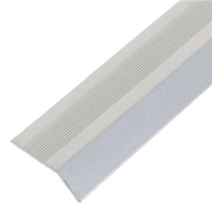 Кант алюминиевый анодированный 002 1 м цвет серебро