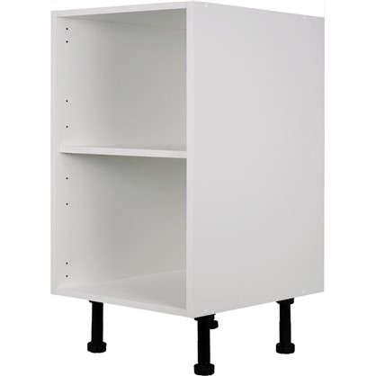 Каркас напольный угловой скошенный 40х70 см цвет белый
