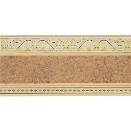 Купить Карниз шинный трехрядный Монарх в наборе 240 см пластик цвет песок дешевле