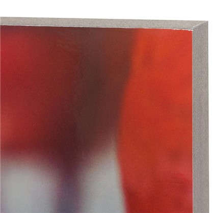Картина без рамы 30х30 см Фламинго