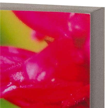 Картина без рамы 30х30 см Колибри