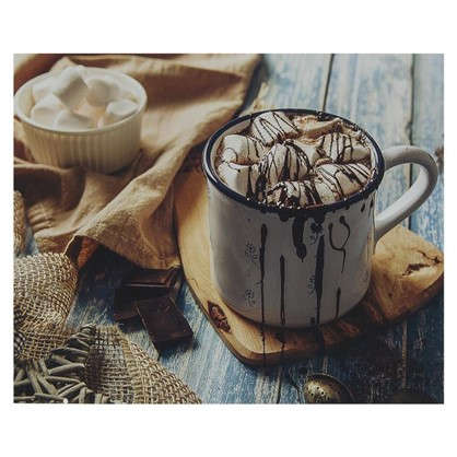 Картина без рамы 40х50 см Hot Chocolate