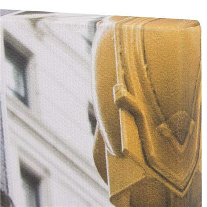 Картина на холсте 30х30 см Бродвей указатель