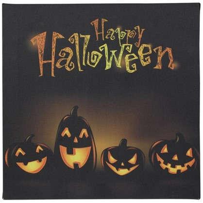 Картина на холсте 30х30 см Happy Halloween