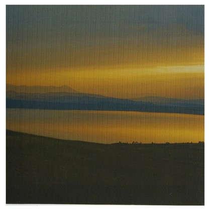 Купить Картина на холсте 30х30 см Озеро на закате дешевле