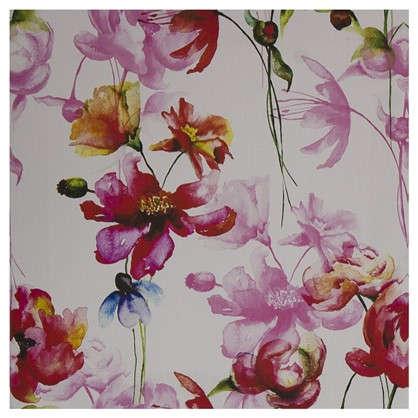Картина на холсте 30х30 см Принт розовые маки