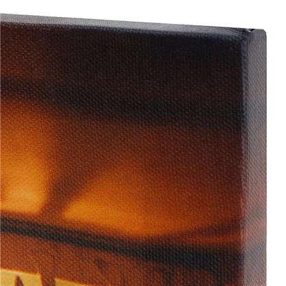 Картина на холсте 30x30 см Фонарики