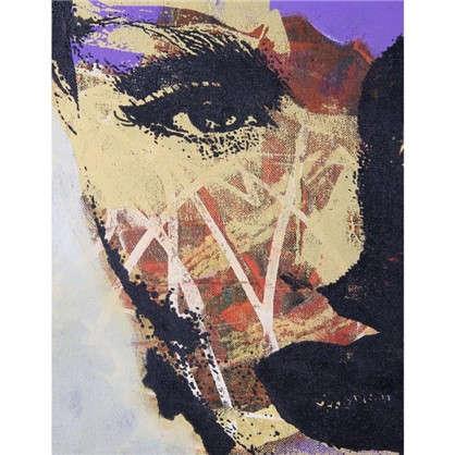 Картина на холсте 40х50 см Девушка лицо