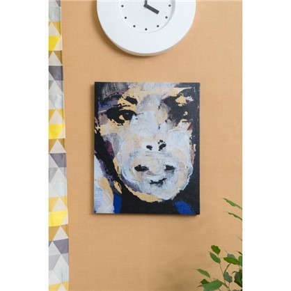 Картина на холсте 40х50 см Девушка портрет