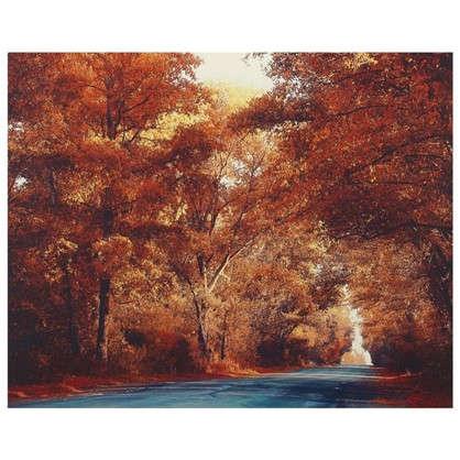 Купить Картина на холсте 40х50 см Осень дешевле