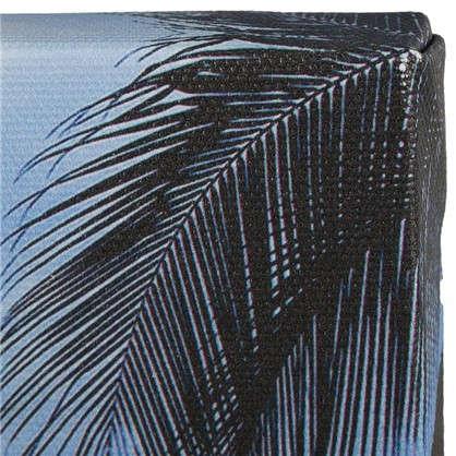 Картина на холсте 40х50 см Пальмы закат