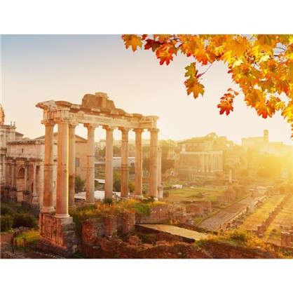 Картина на холсте 40х50 см Римские развалины