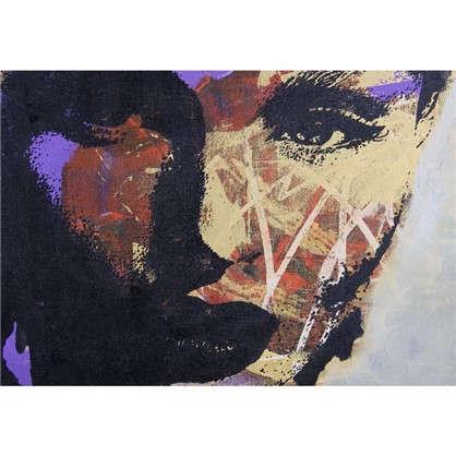 Картина на холсте 50х70 см Девушка