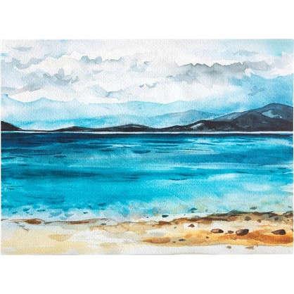 Купить Картина на холсте Озеро 30х40 см дешевле
