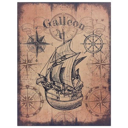 Купить Картина на МДФ Galleon 30х40 см дешевле