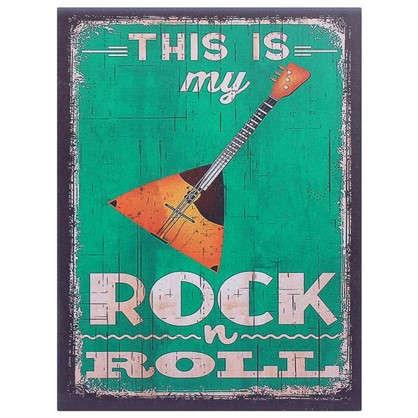 Картина на МДФ It is my Rok-n-Roll 30х40 см