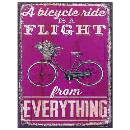 Картина на МДФ Велосипед 30х40 см