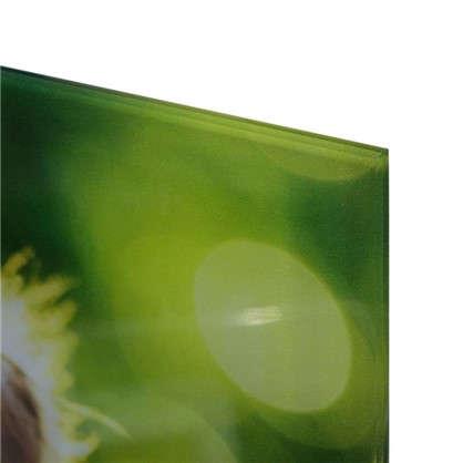 Картина на стекле 30х30 см Щенок